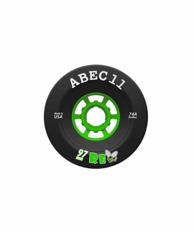 ABEC11 ReFly 97mm 74a Svart - Sverige