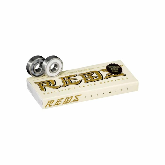 Bones Bearings - Ceramic Super Reds - Sverige