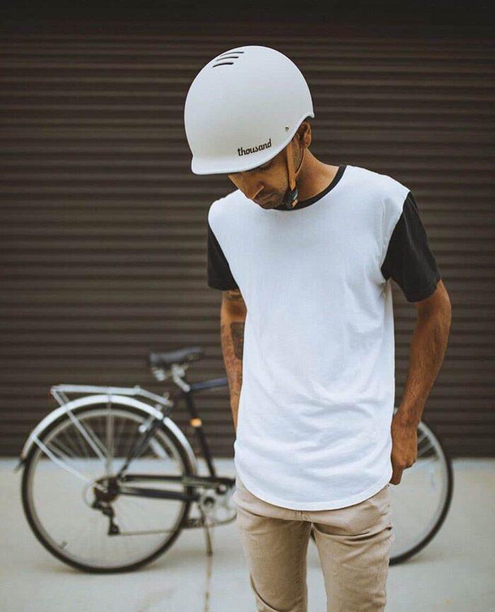 Thousand Helmet Arctic Grey - Cykelhjälm Sverige