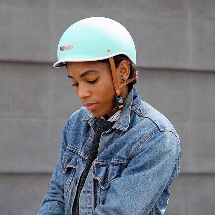 Thousand Helmet Willowbrook Mint - Cykelhjälm Sverige