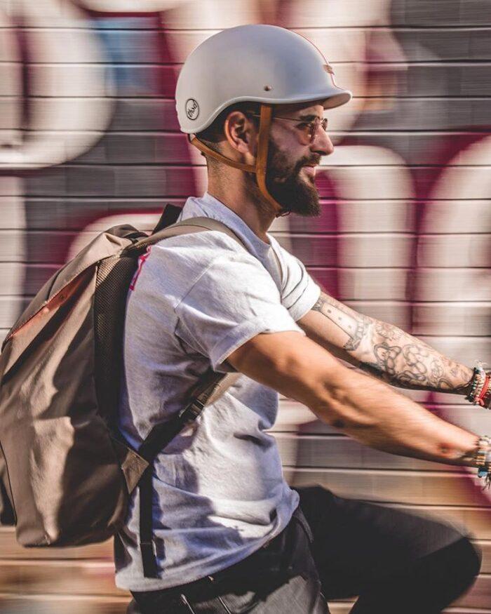 Thousand Helmet Speedway Cream - Cykelhjälm Sverige