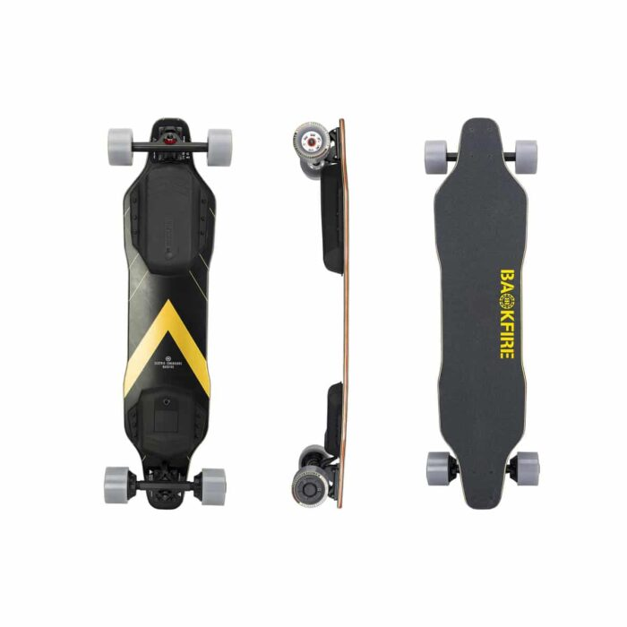 Backfire G2t Elektrisk Skateboard - Golden Black - Sverige