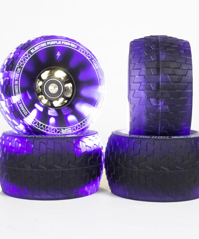 Slick Revolution Foamies 120mm 78a Electric Purple - Europe