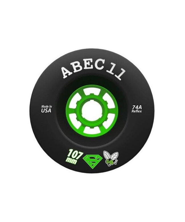 Abec11 Superfly 107mm wheels black - Europe