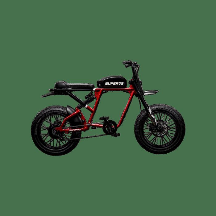 Super73 RX Elcykel Sverige Röd