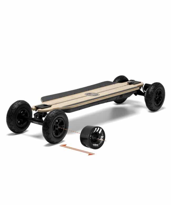 Evolve Skateboards GTR Bamboo 2in1 Sverige